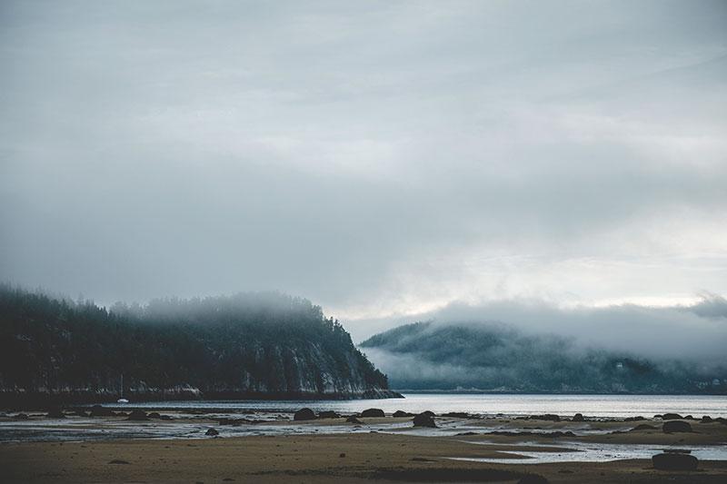 landscape image of mountains